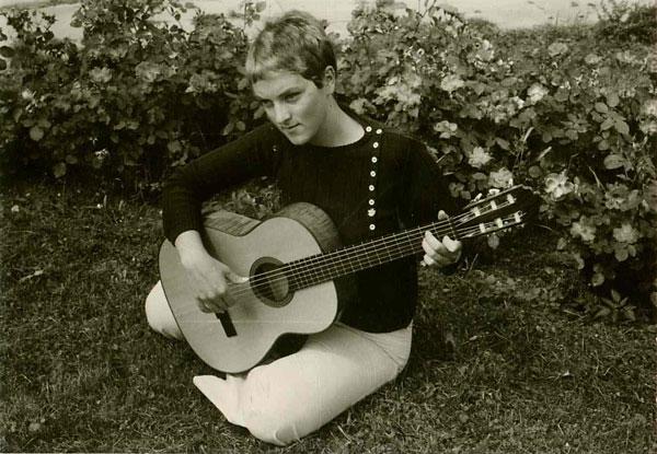 Hanne ung guitarist 1969