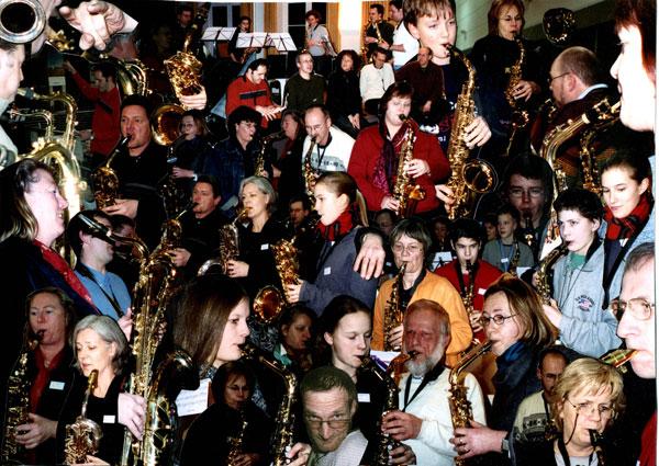 Saxofon Workshop Flensburg 2003