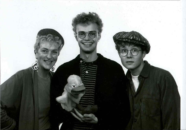 Skolekoncerter med trio 1992